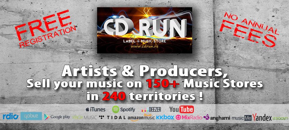CD RUN Music Store & Digital Label - iTunes - Deezer - Spotify